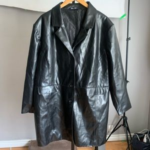 VINTAGE PLUS SIZE Leather Jacket